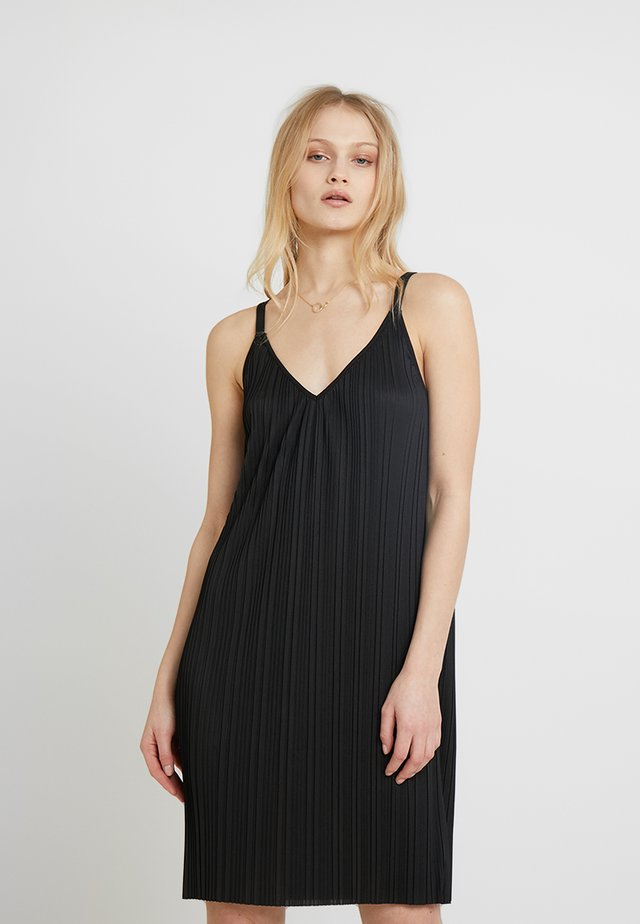 PAOLA STRAPPY DRESS - Cocktailklänning - black