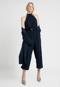 Great Plains London - LOUIS CREPE - Jumpsuit - dark navy - 2