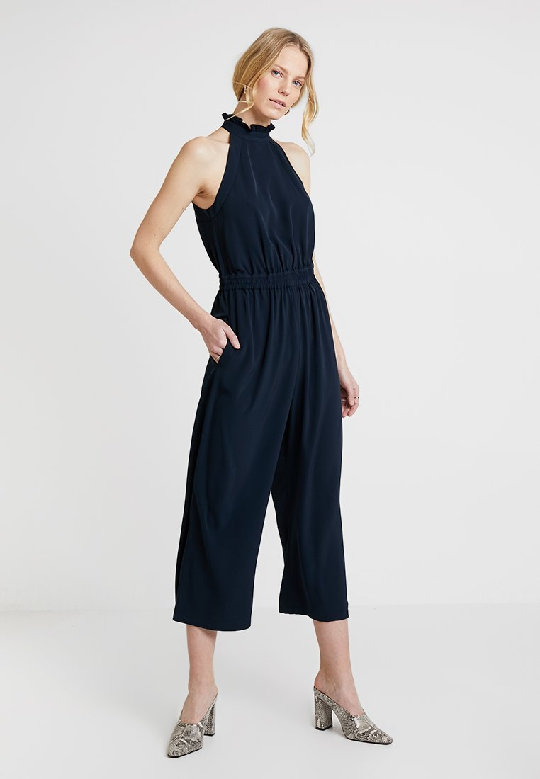Great Plains London - LOUIS CREPE - Jumpsuit - dark navy