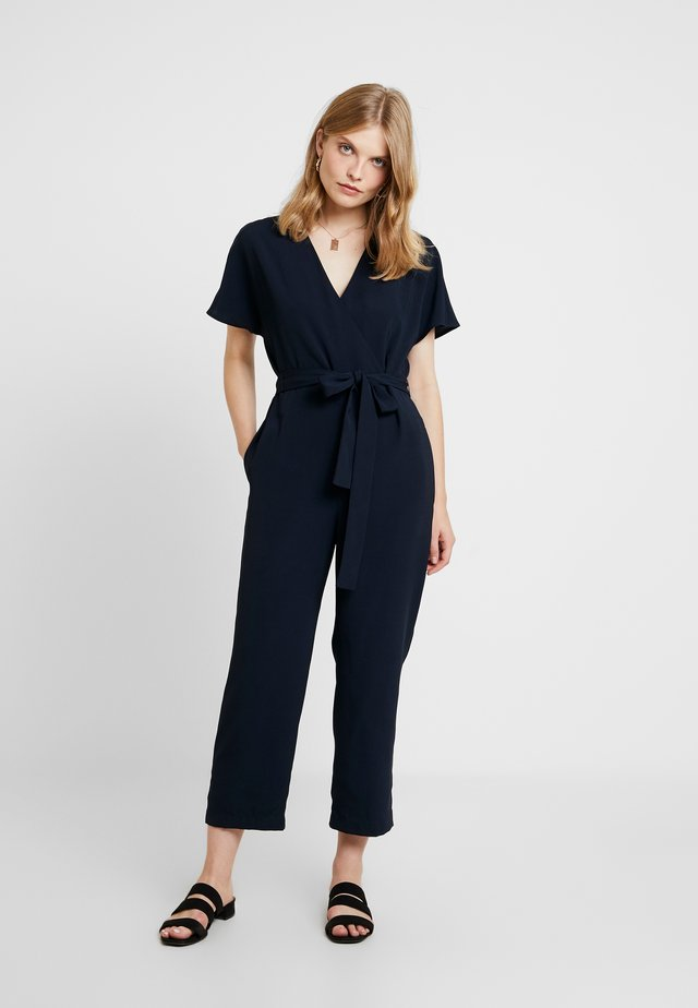 EASY DRAPE - Overall / Jumpsuit - navy