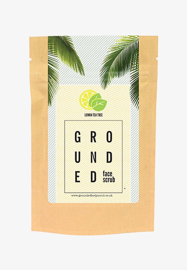 Grounded - FACE SCRUB 60G - Face scrub - yellow lemon & tea tree