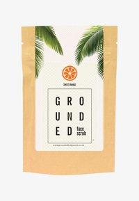 Grounded - FACE SCRUB 60G - Peeling - orange/sweet orange - 0