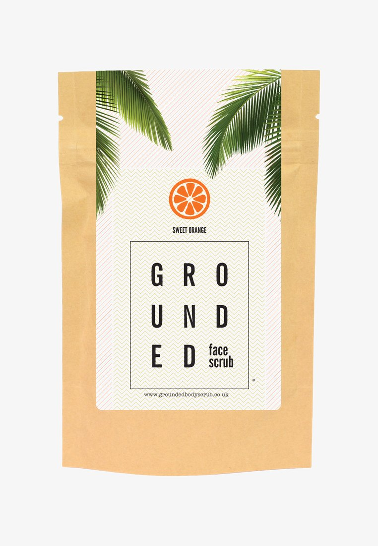 Grounded - FACE SCRUB 60G - Peeling - orange/sweet orange