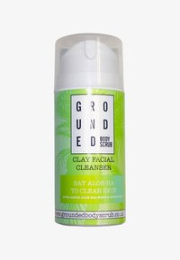 Grounded - CLAY FACIAL CLEANSER 100G - Detergente - green/clay - 0