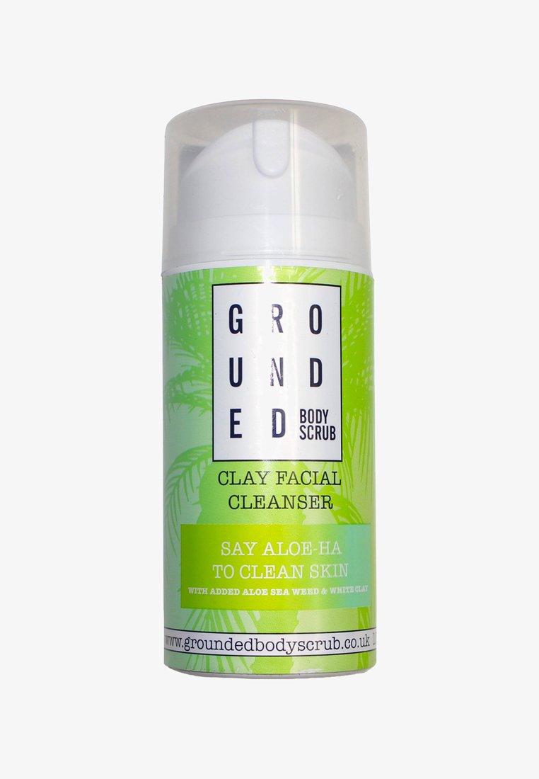 Grounded - CLAY FACIAL CLEANSER 100G - Oczyszczanie twarzy - green/clay