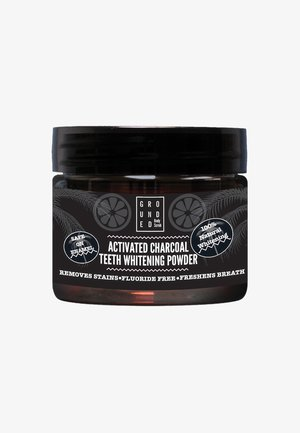 ACTIVATED CHARCOAL TEETH WHITENING POWDER 50ML - Tandverzorging - black/charcoal