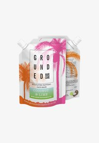Grounded - HAIR MASK 100G - Haarmasker - green/coconut & lime - 0