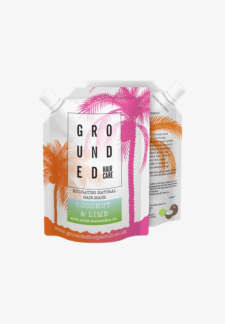 Grounded - HAIR MASK 100G - Haarmasker - green/coconut & lime