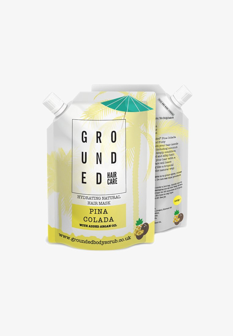 Grounded - HAIR MASK 100G - Maschera per capelli - yellow/pina colada