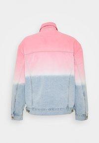 Grimey - UNISEX  YANGA JACKET - Denim jacket - pink - 1