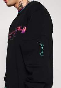 Grimey - UNISEX  ACKNOWLEDGE - Zip-up hoodie - black - 5