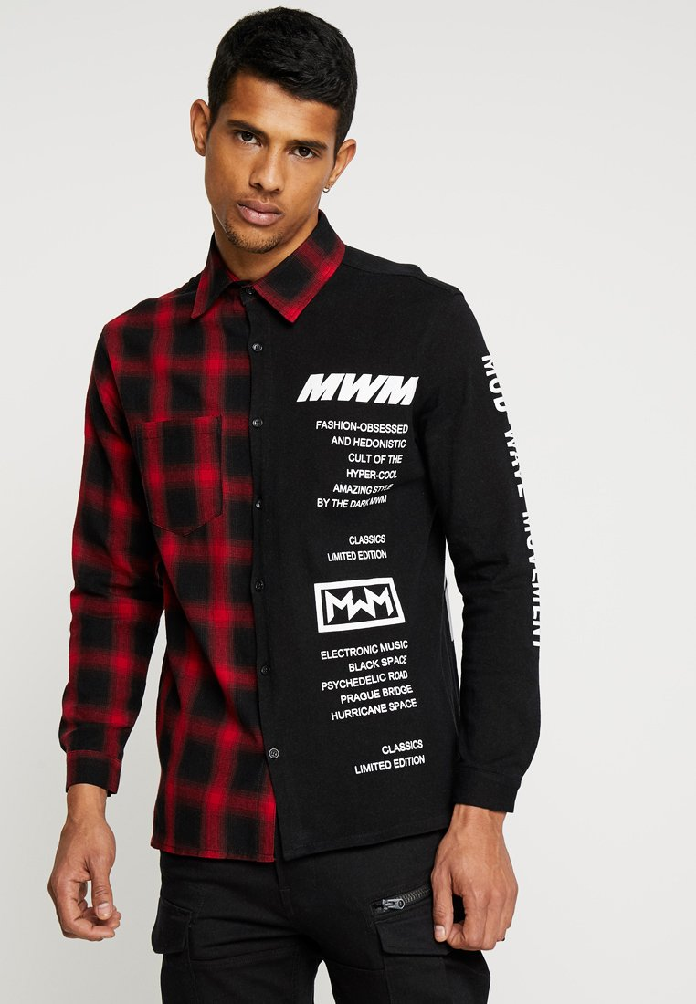 MWM - SHIRT ZIPPER BACK - Overhemd - red