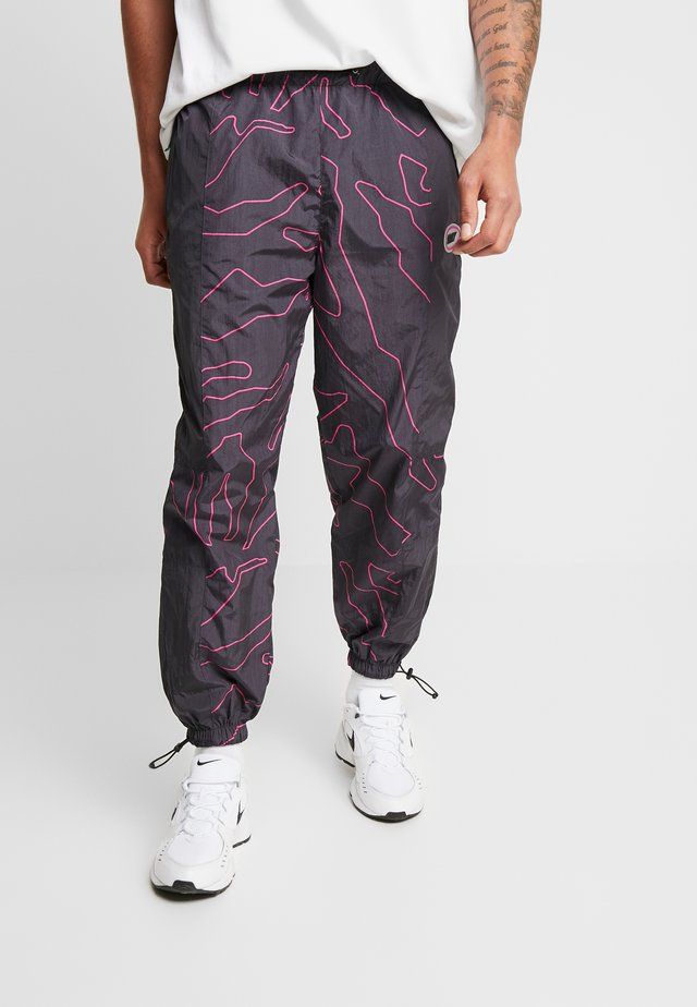 MYSTERIOUS VIBES TRACK PANTS - Tracksuit bottoms - black