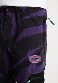 Grimey - MYSTERIOUS VIBES POLAR PANTS - Trainingsbroek - black - 3