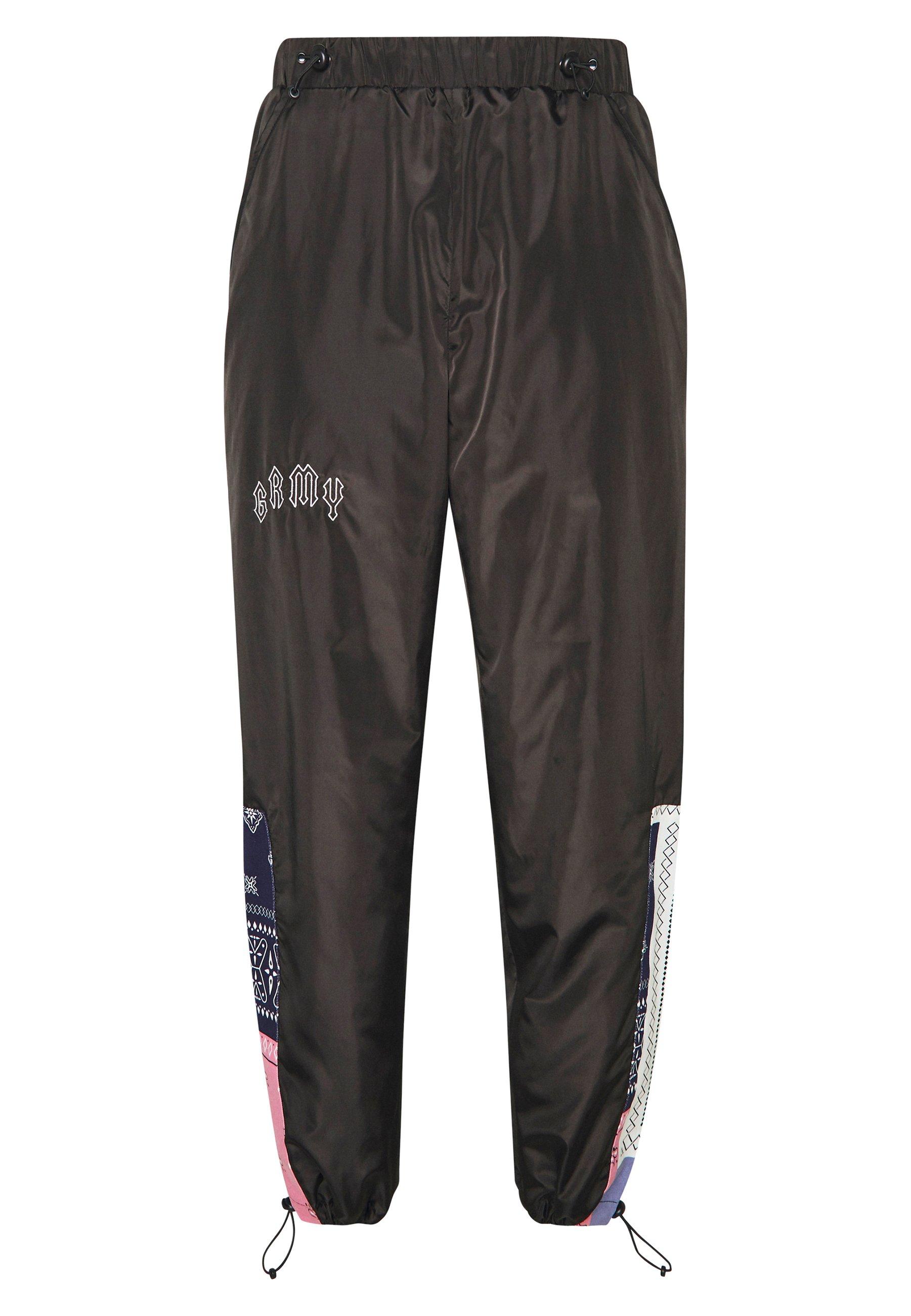 Grimey CARNITAS TRACK PANTS - Spodnie treningowe - black
