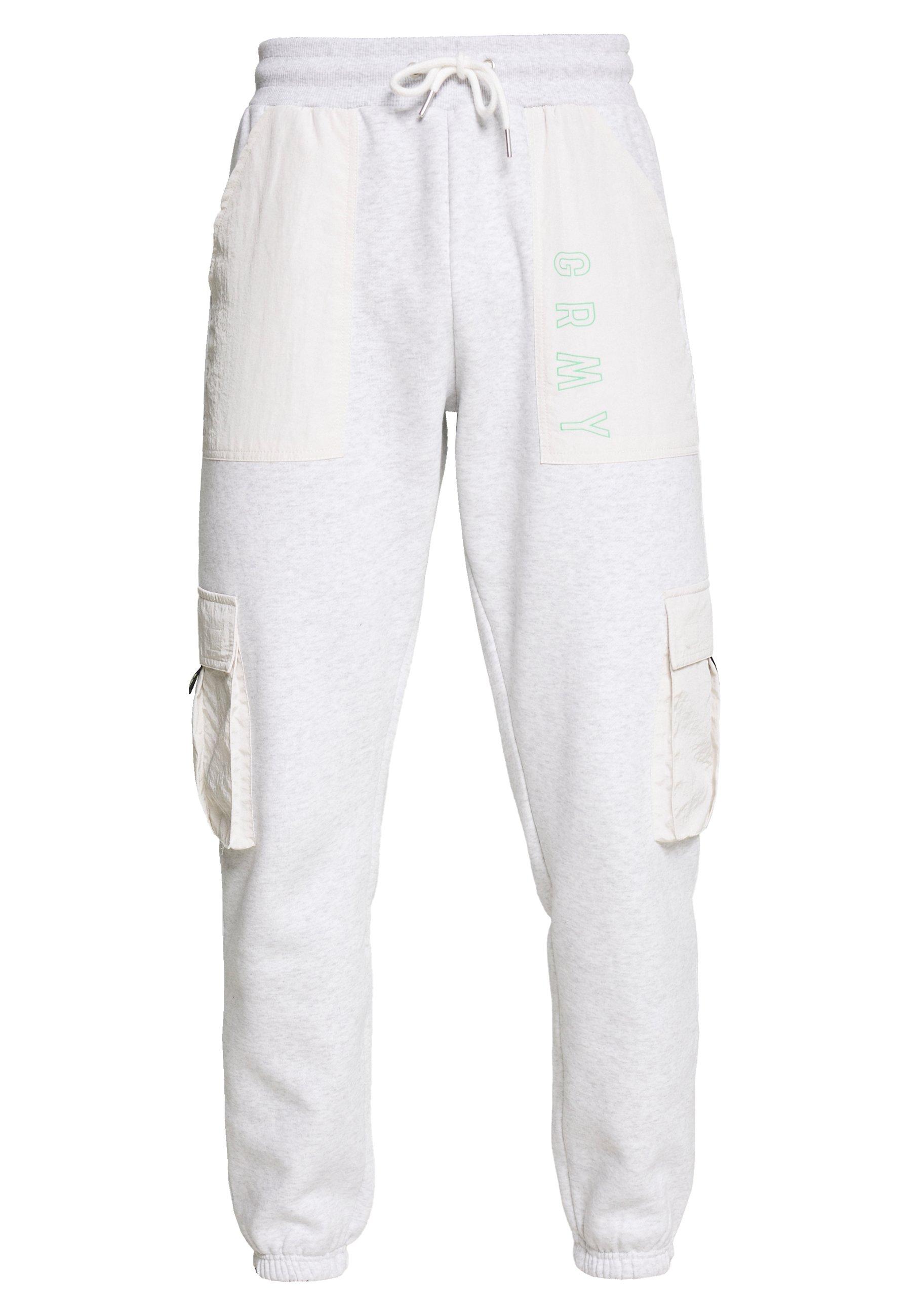 Grimey ROPE A DOPE CARGO - Pantalon de survêtement - sport grey