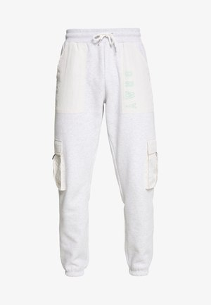 ROPE A DOPE CARGO - Tracksuit bottoms - sport grey