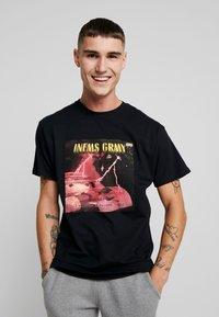 Grimey - NAMLU'U TEE - Print T-shirt - black - 0