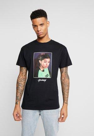 CASH TEE - Print T-shirt - black
