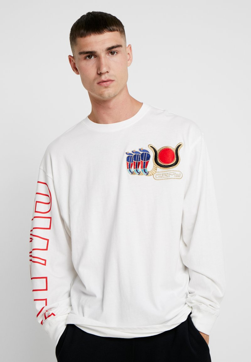 Grimey - ENGINEERING LONG SLEEVE TEE - Maglietta a manica lunga - white