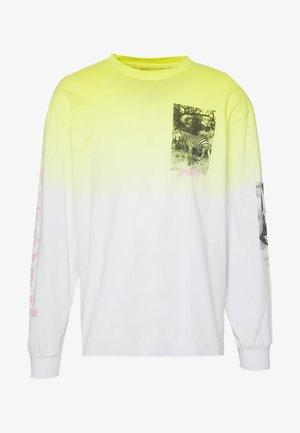 YANGA LONG SLEEVE - Langærmede T-shirts - yellow