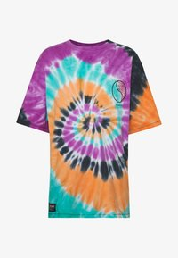 Grimey - ACKNOWLEDGE TIE AND DYE TEE - T-shirt con stampa - orange - 5