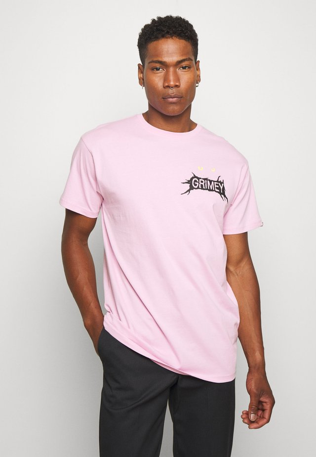 FACE YOUR FEAR TEE - T-shirts med print - pink