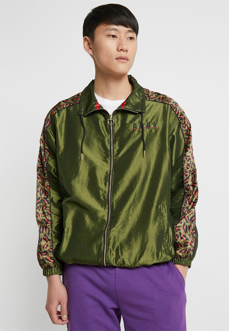 Grimey - MIDNIGHT CHAMELEON TRACK JACKET - Training jacket - green