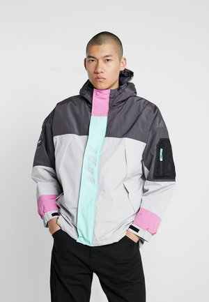 MYSTERIOUS VIBES JACKET - Lehká bunda - grey
