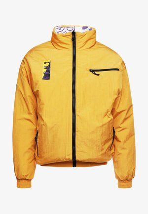 ALIENATION 1977 REVERSIBLE PUFFY JACKET - Winter jacket - mustard