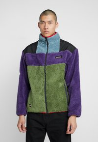 Grimey - SIGHTING IN VOSTOK SHERPA JACKET - Lehká bunda - purple - 0