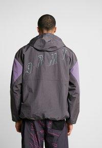 Grimey - MYSTERIOUS VIBESRAINCOAT - Waterproof jacket - black - 2