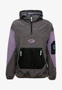 Grimey - MYSTERIOUS VIBESRAINCOAT - Waterproof jacket - black - 4