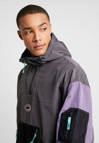 Grimey - MYSTERIOUS VIBESRAINCOAT - Waterproof jacket - black - 3