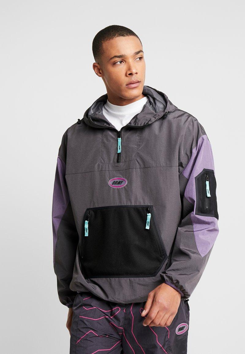 Grimey - MYSTERIOUS VIBESRAINCOAT - Waterproof jacket - black