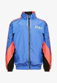 Grimey - PLANETE NOIRE TRACK JACKET - Training jacket - blue - 4