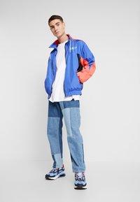 Grimey - PLANETE NOIRE TRACK JACKET - Training jacket - blue - 1