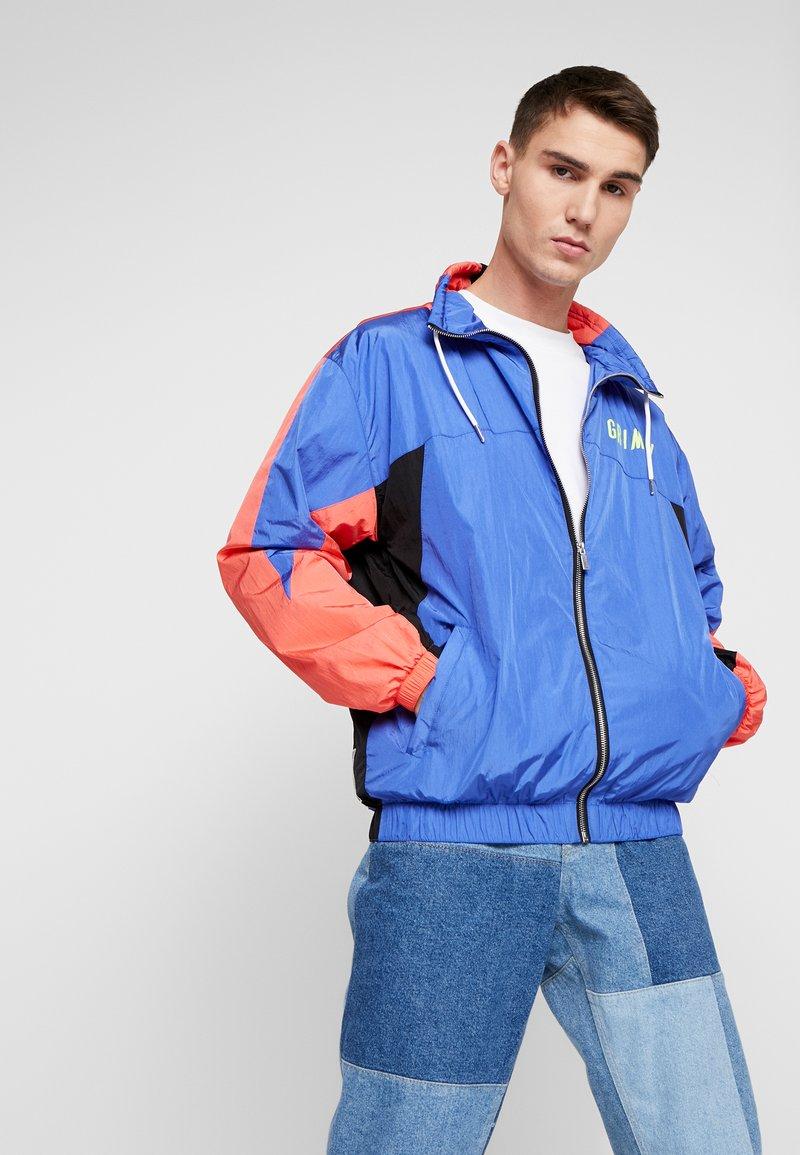 Grimey - PLANETE NOIRE TRACK JACKET - Training jacket - blue