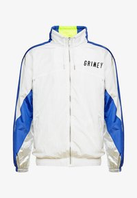 Grimey - PLANETE NOIRE SILVER TRACK JACKET - Training jacket - white - 4