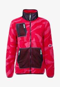 Grimey - MYSTERIOUS VIBES ZIP POLAR - Fleece jacket - pink - 3