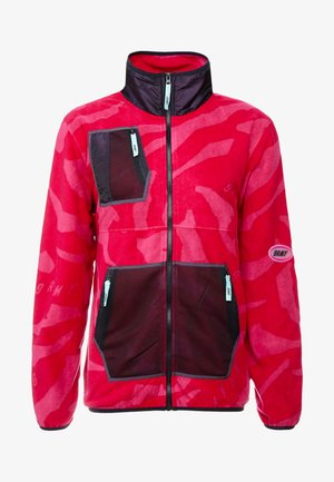 MYSTERIOUS VIBES ZIP POLAR - Giacca in pile - pink