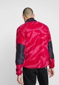 Grimey - MYSTERIOUS VIBES ZIP POLAR - Fleece jacket - pink - 2