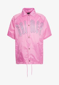 Grimey - CARNITAS CHICAS BONITAS SHORT SLEEVE COACH JACKET - Summer jacket - rose - 3