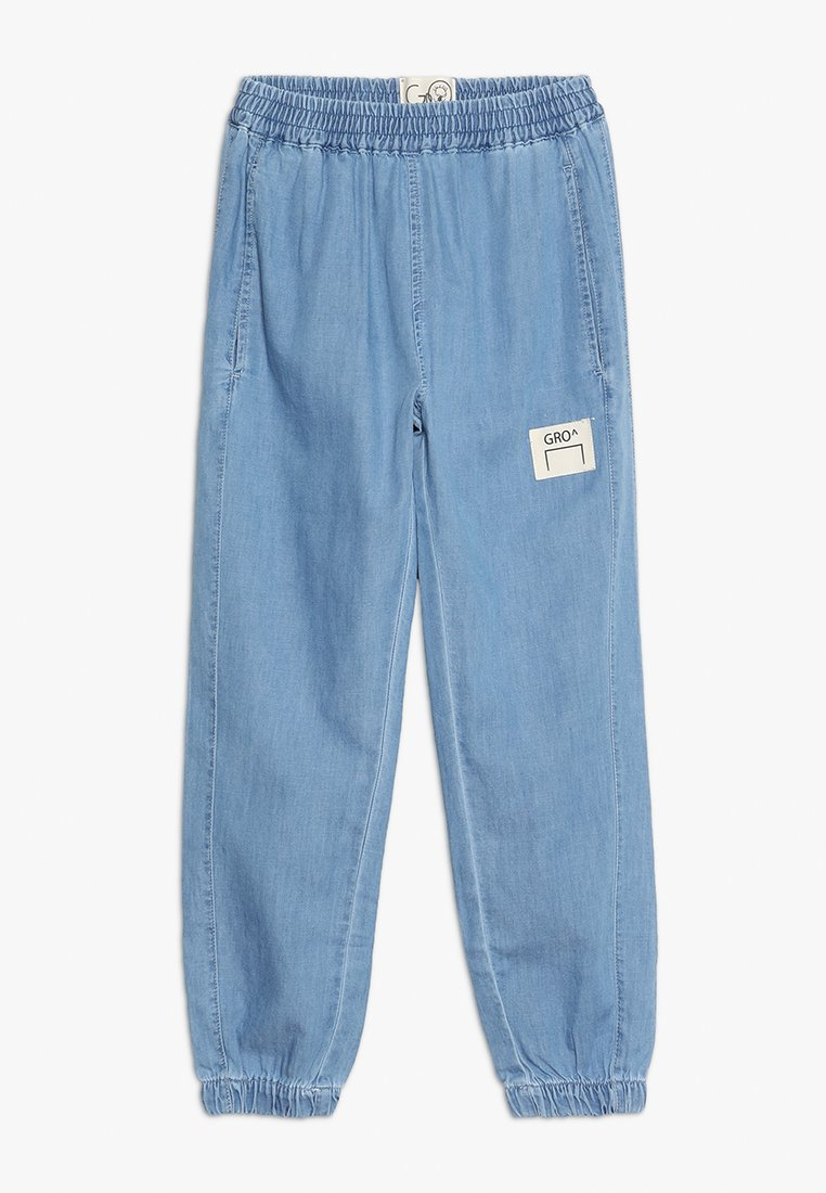 GRO - TJALDE TRACK PANT - Jeans Relaxed Fit - light denim