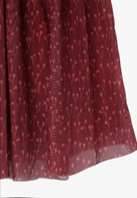 GRO - ELLA EXTRA LONG SKIRT - Spódnica trapezowa - dark red - 3
