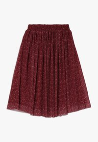 GRO - ELLA EXTRA LONG SKIRT - Spódnica trapezowa - dark red - 1
