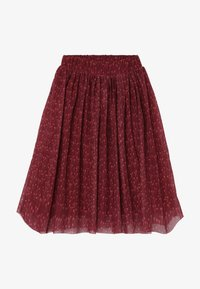 GRO - ELLA EXTRA LONG SKIRT - Spódnica trapezowa - dark red - 2