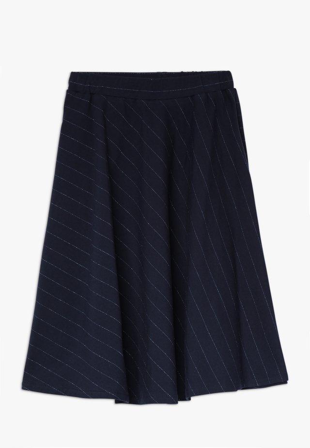 MYNTE DIAGONAL SKIRT - A-line skirt - navy