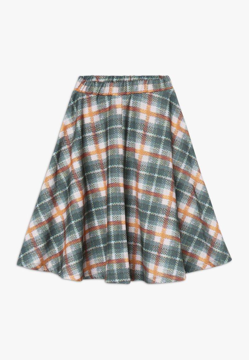 GRO - GRETA LONG SKIRT - A-line skirt - dark green