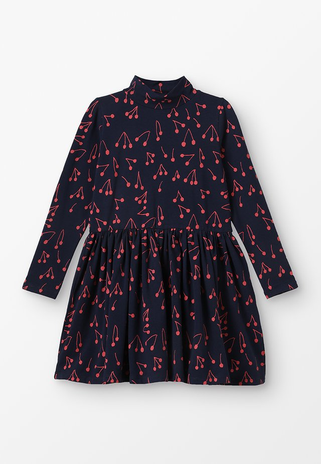 CECILIE DRESS - Jerseykjoler - navy